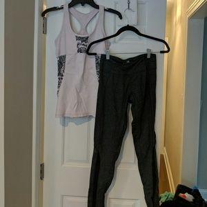 Active wear - Yoga Set top S pants XS
